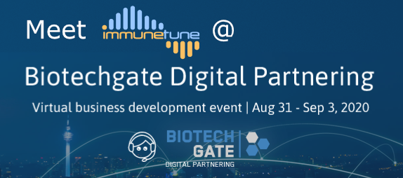 Biotechgate Digital Partnering 31 Aug – 3 Sep 2020