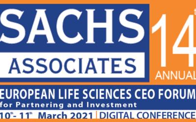 Sachs Associates EU Life Sciences CEO Forum, 10 -11 March 2021